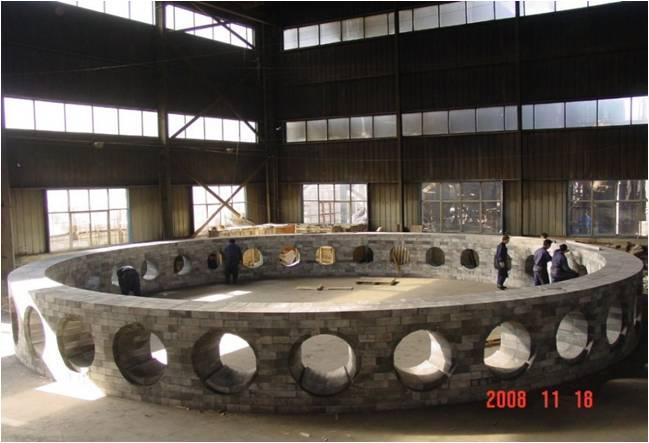 高炉风口组合砖工程示例